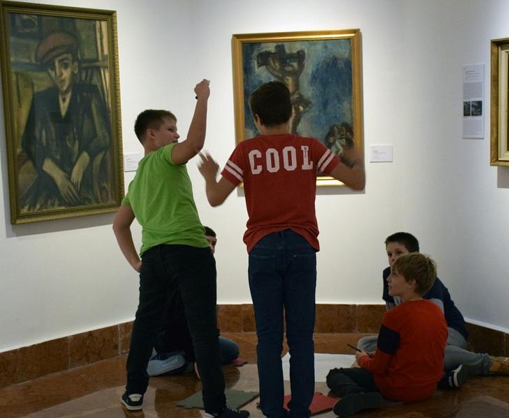 Czóbel Múzeum, Barcsay Általános Iskola. Fotó György Gabriella